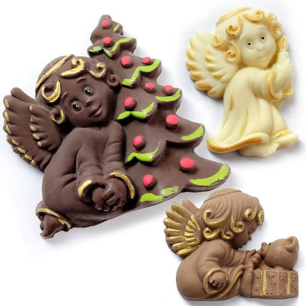 Angeli di cioccolato - Vari soggetti - Natale di Cioccolato