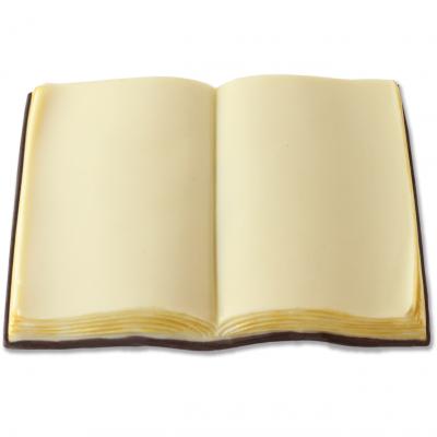 Comunione e Cresima - Compleanno e Ricorrenze - Laurea - Libro aperto di cioccolato