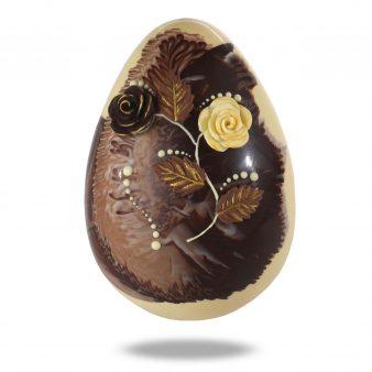 Uovo di Pasqua artigianale Marmorizzato