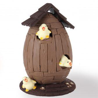 Uovo di Pasqua artigianale Botte