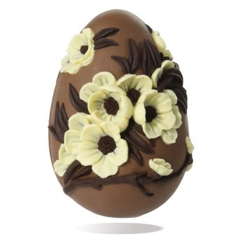 Uovo di Pasqua artigianale Fiori di Pesco