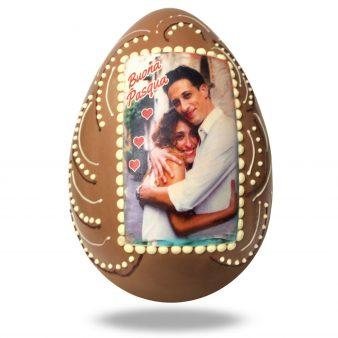 Uovo di Pasqua artigianale personalizzato
