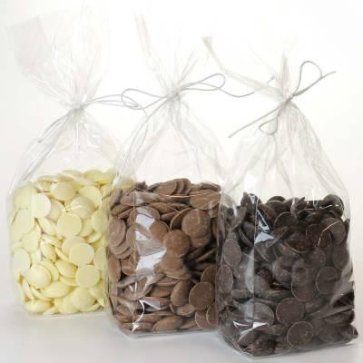 Cioccolatini, Praline, Tavolette - Cioccolato in dischetti da fondere