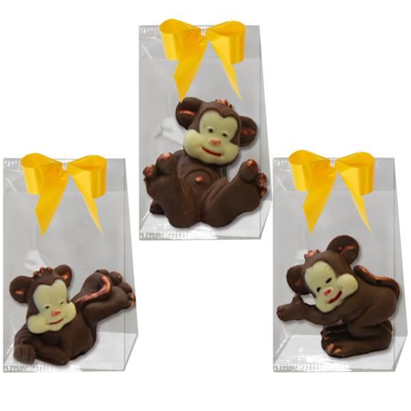 Scimmietta di cioccolato in confezione - Compleanno e Ricorrenze