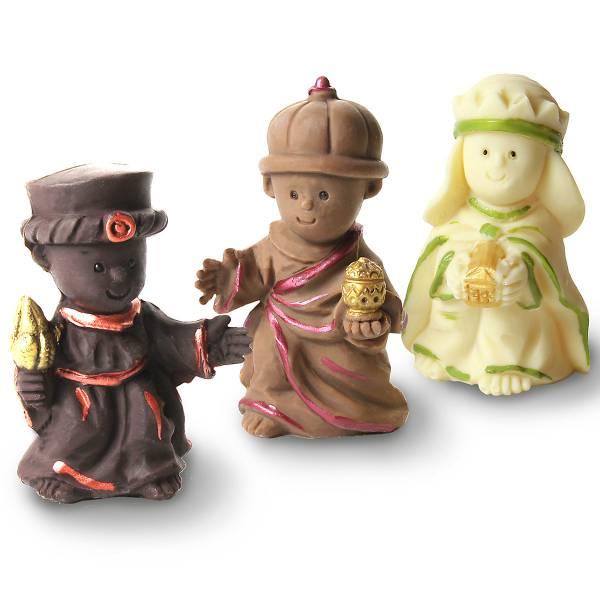 """""""I tre Re Magi"""" di cioccolato - Cioccolato di Natale"""