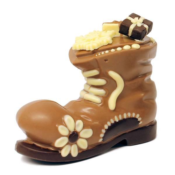 Scarpa della Befana di cioccolato - Natale di Cioccolato