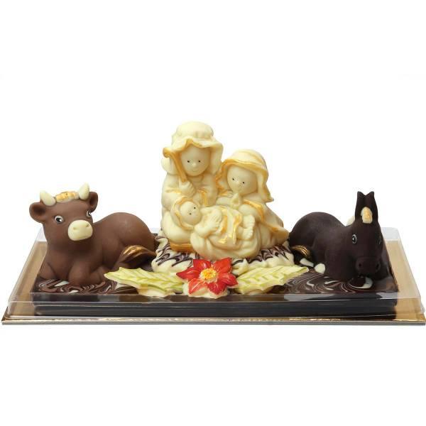 Sacra Famiglia - Cioccolato di Natale