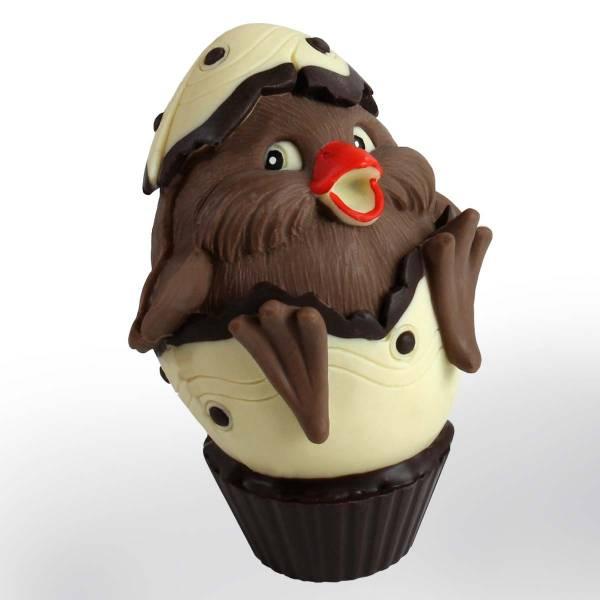 Pulcino nel guscio medio di cioccolato - Uova di Pasqua