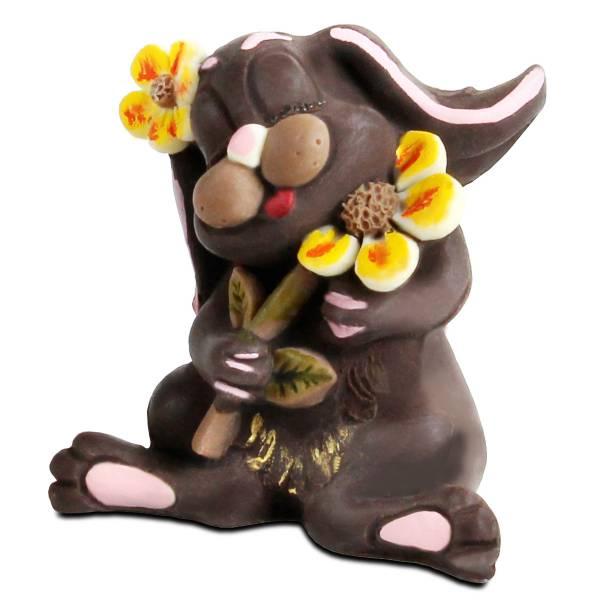 Coniglietta Miele di cioccolato - Compleanno e Ricorrenze - Uova di Pasqua