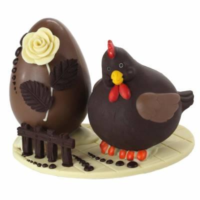 Composizione-di-cioccolato-con-Gallinotta-e-uovo-di-Pasqua-19024