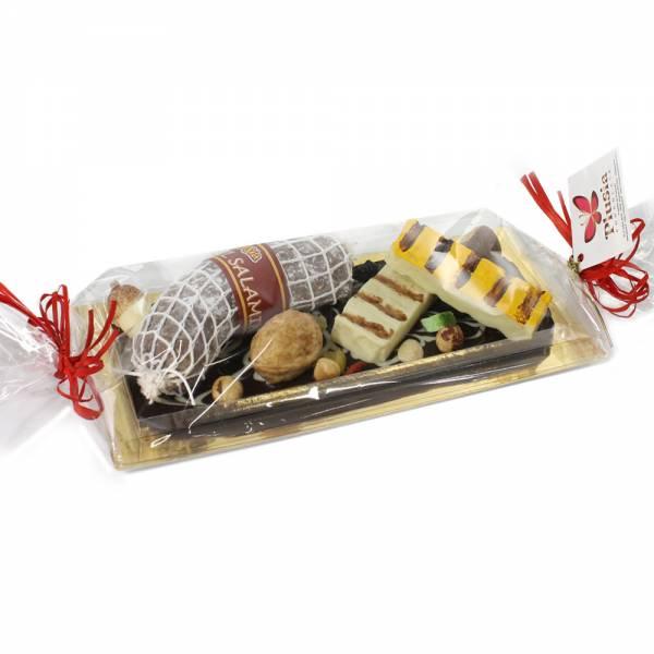 Vassoio Gastronomia di cioccolato - Gastronomia di cioccolato