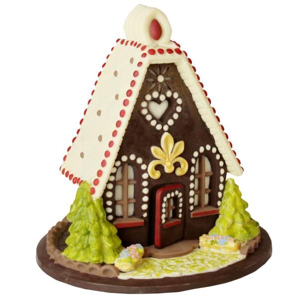 Casetta da fiaba di cioccolato - Cioccolato di Natale