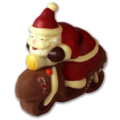 Babbo-Natale-in-Vespa-di-cioccolato